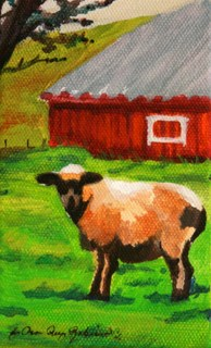 """You Looking at Me?"" original fine art by JoAnne Perez Robinson"