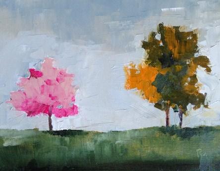 """""""Tree Color"""" original fine art by Pamela Munger"""