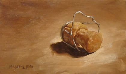 """Popped"" original fine art by Michael Naples"