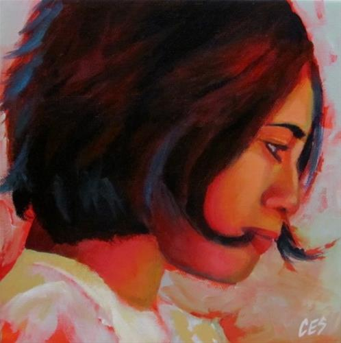 """The Romantic"" original fine art by ~ces~ Christine E. S. Code"