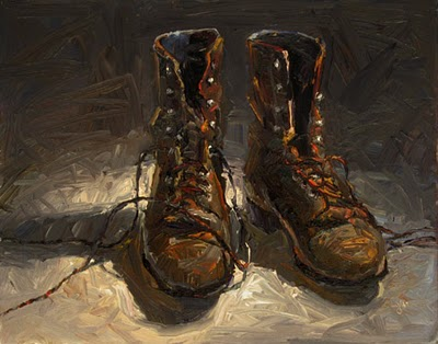 """J's Ropers"" original fine art by Raymond Logan"
