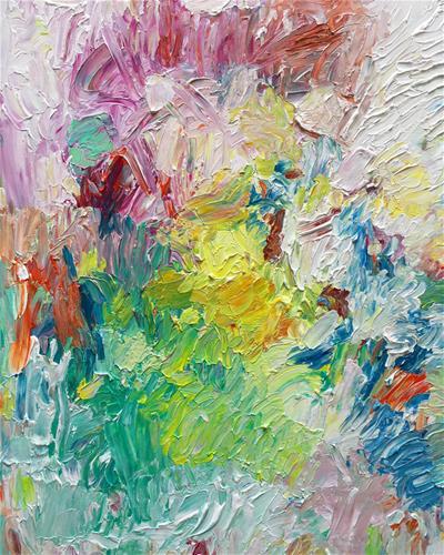 """Rising Sun"" original fine art by Nava Judith"
