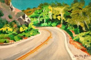 """""""The Road in..."""" original fine art by JoAnne Perez Robinson"""