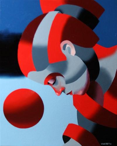 """Mark Adam Webster - Dark Matter Painting Series #7"" original fine art by Mark Webster"