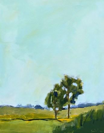 """Tree Love"" original fine art by Pamela Munger"