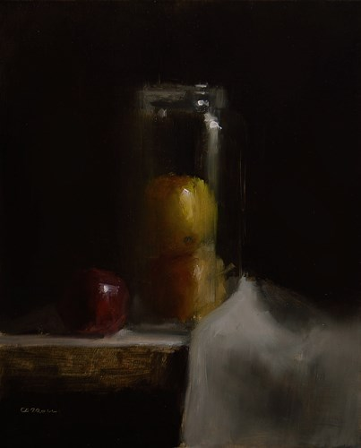"""Apple Jar"" original fine art by Neil Carroll"
