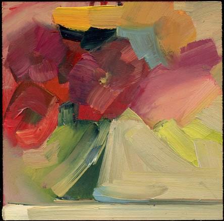 """2354 Deflect"" original fine art by Lisa Daria"