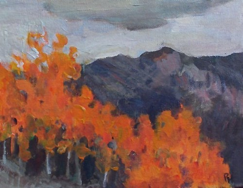 """Fall Fire"" original fine art by Pamela Munger"