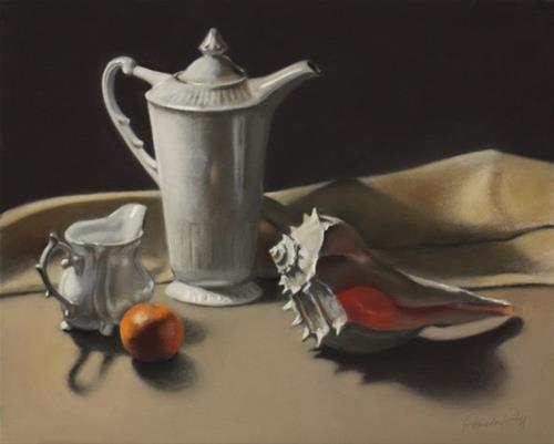 """""""Inner Light"""" original fine art by Pamela Poll"""