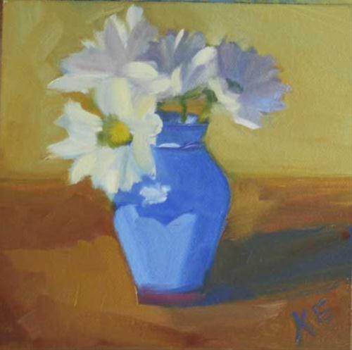 """Oh Daisy!"" original fine art by Katharine Engh"