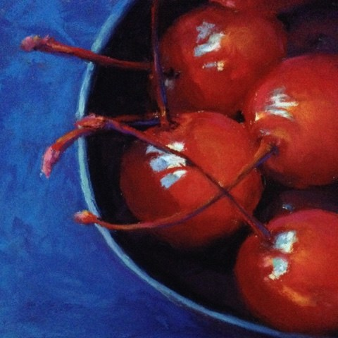 """Maraschinos"" original fine art by Cindy Gillett"