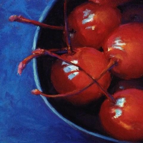 """Maraschinos"" original fine art by Cindy Gillett"