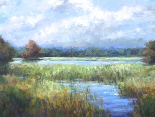 """October Lowcountry"" original fine art by Christina Dowdy"