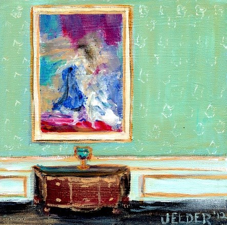 """Versailles No. 3"" original fine art by Judith Elder"