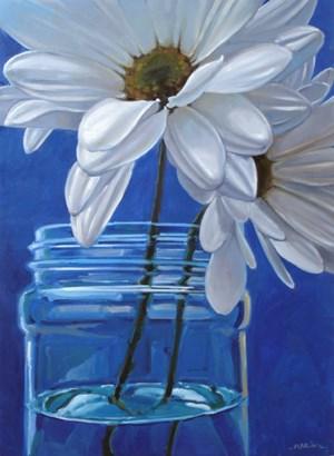 """""""Blue"""" original fine art by Carol Marine"""