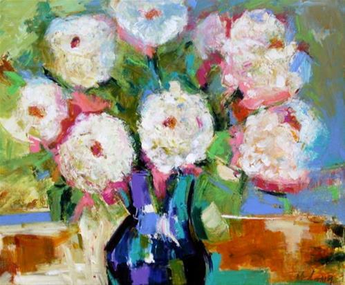 """""""Love Blooms"""" original fine art by Elizabeth Chapman"""