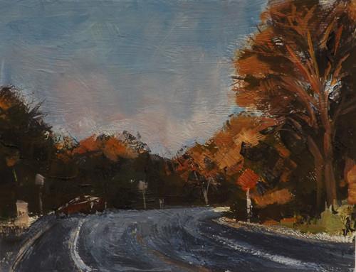 """""""Landscape,d30"""" original fine art by Run-      Zhang Zane"""