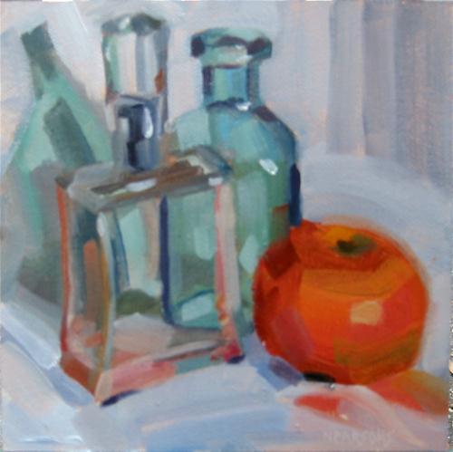 Glass Houses original fine art by Nancy Parsons