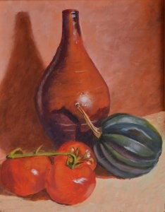 """Southwest Vase"" original fine art by Robert Frankis"