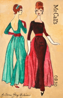 """Elegant Vintage"" original fine art by JoAnne Perez Robinson"