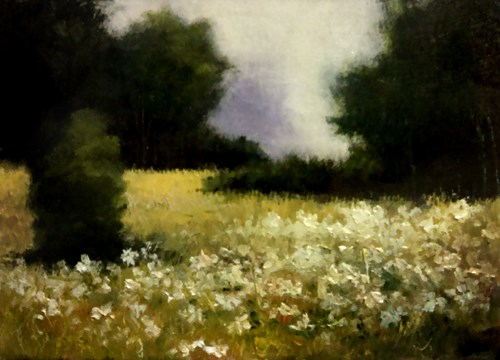 """The Meadow"" original fine art by Bob Kimball"