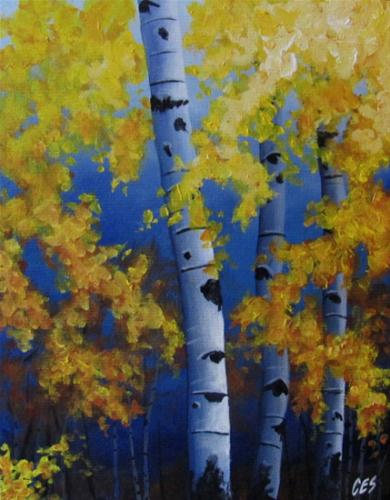 """September Foliage"" original fine art by ~ces~ Christine E. S. Code"