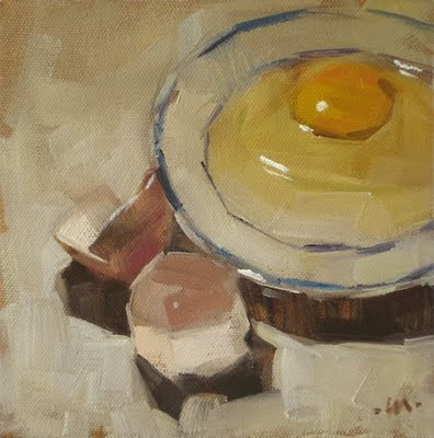 """Shell on the Side"" original fine art by Carol Marine"