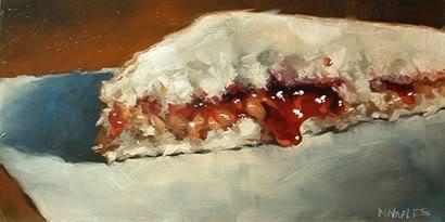 """PB and J No.9"" original fine art by Michael Naples"
