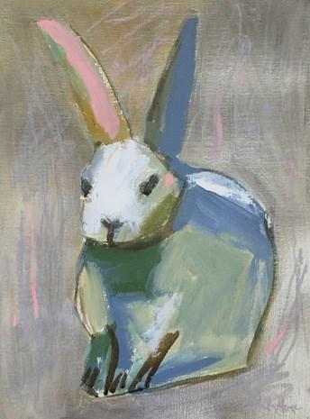 """""""Bunny II"""" original fine art by Pamela Munger"""