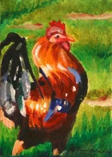 """The Big Cheese"" original fine art by JoAnne Perez Robinson"