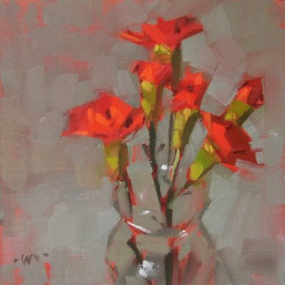 """Vanishing Vase"" original fine art by Carol Marine"