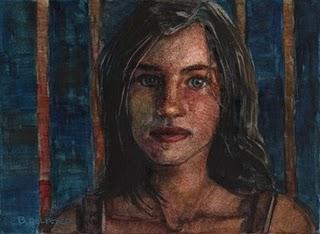 """""""Watercolor: Adolescence"""" original fine art by Belinda Del Pesco"""