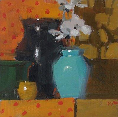 """""""Oh Enchanted One"""" original fine art by Carol Marine"""