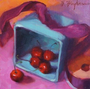 """Out of the Box"" original fine art by Bruce Bingham"