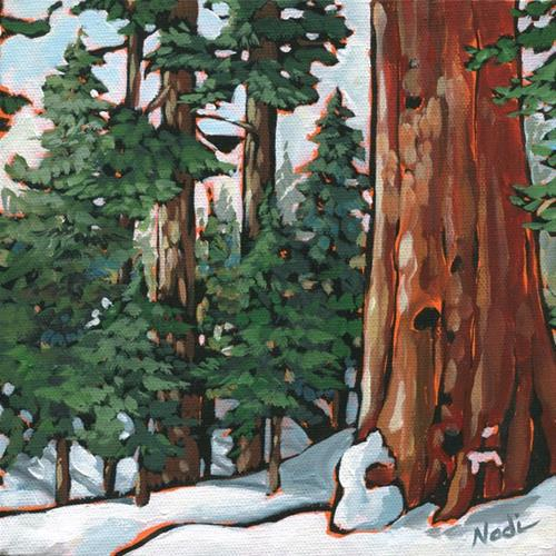 """Gentle Giant 2"" original fine art by Nadi Spencer"