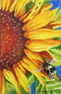 """Working Stiff"" original fine art by JoAnne Perez Robinson"