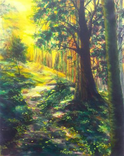 """Three Lakes Loop"" original fine art by Becky Chappell"