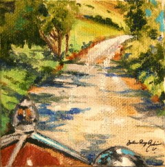 """The Road Ahead"" original fine art by JoAnne Perez Robinson"