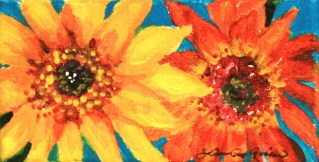 """Late Summer, Early Fall"" original fine art by JoAnne Perez Robinson"