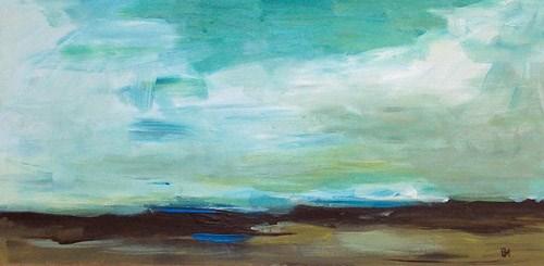 """""""Gulf Sky"""" original fine art by Pamela Munger"""