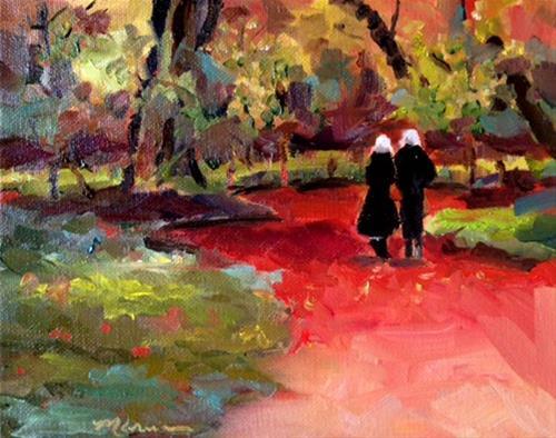 """A Good Day"" original fine art by Marcia Hodges"