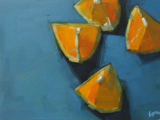 """Four Eighths"" original fine art by Carol Marine"