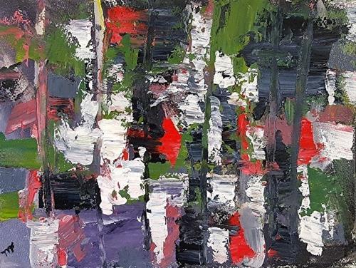 """""""Reflections"""" original fine art by Mechele Flowers"""