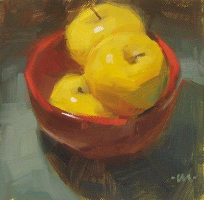 """Cozy Close --- SOLD"" original fine art by Carol Marine"