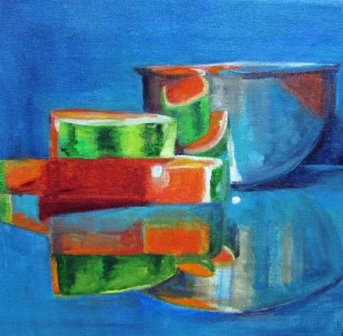 """Upside Down  Challenge"" original fine art by Barbara Haviland"