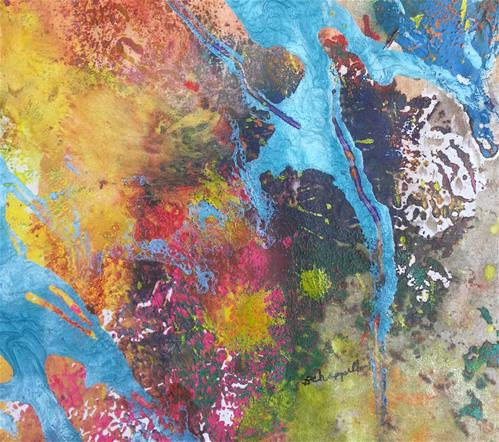 """Chaos"" original fine art by Becky Chappell"