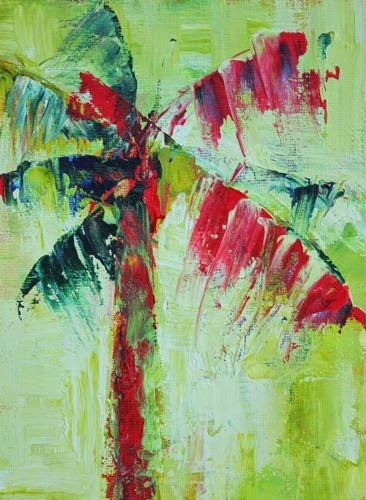 """Palm, Contemporary Landscape Paintings by Arizona Artist Amy Whitehouse"" original fine art by Amy Whitehouse"
