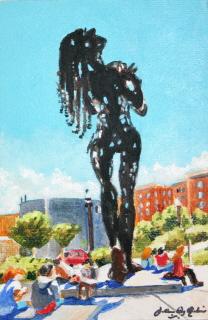 """Art in the Park"" original fine art by JoAnne Perez Robinson"