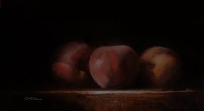 """Peaches"" original fine art by Neil Carroll"