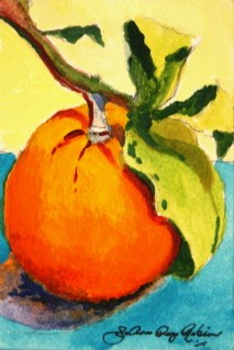 """Freshly Picked"" original fine art by Joanne Perez Robinson"